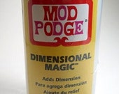 Mod Podge Dimensional Magic