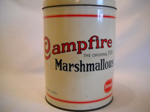 Vintage Campfire Marshmallows Tin