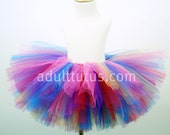 Birthday Candy Colorful Adult Tutu Teen Tutu 10 inch