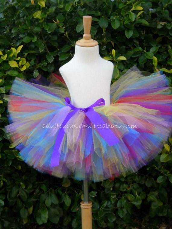 Candyland Inspired Tutu RTS Size XL 10 inches