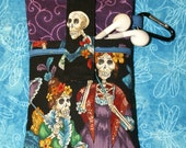 iPhone case, iPhone cover, HTC evo case, Android cover, Blackberry case, ipod, Gadget case, Padded, Pouch, Sleeve - Day of the Dead II