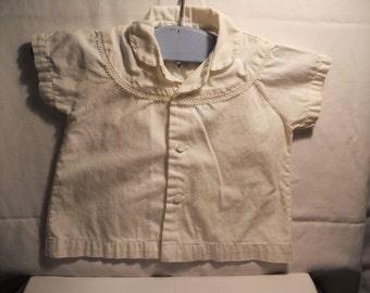 Vintage baby's dress shirt