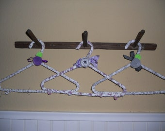 Fabric Wrapped Childs Hangers