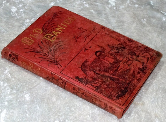 Antique Old Daniel, Memoir of a Converted Hindoo, India, Religion, Vintage c1900