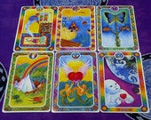 RESERVED - 2 Questions OR Situations - Tarot Card Reading - 2 Readings (3 Cards Each)