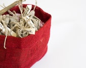 Eco Gift: Herbal Gift Set of 5 Herbs in Linen bags/ Nature/ Organic/ Eco friendly/ Primitive