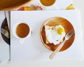 i love eggs - set of 5 postcards