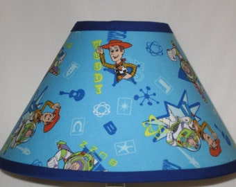 Disney Toy Story Fabric Childrens Lamp Shade