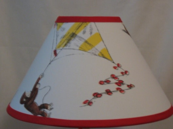 Curious George Lamp Shade M2m Pottery Barn Kids