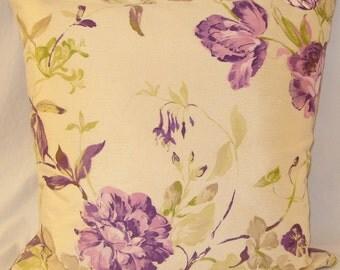 Fleur Cushion- Purple