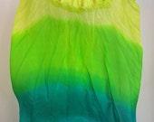 Fan Veil Set (2fans)-Color/Emerald Forest