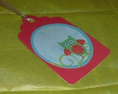Owl Gift Tag Set of 3