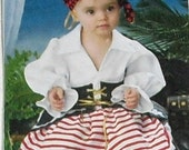 Pirate Toddler Costume Pattern by Simplicity 2561 from ThisandThatCrafter