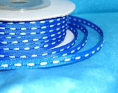 "Royal Blue Ribbon... Thin Ribbon Spool...1/8"" X 25 yards"