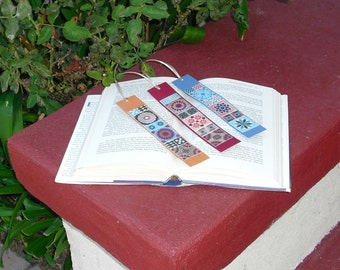 Rustic Southwestern Bookmark Set of 3