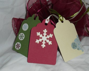 Snowy Gift Tag Set of 3