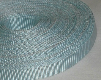 "Light Blue Grosgrain Ribbon...3/8"" X  12 yards"