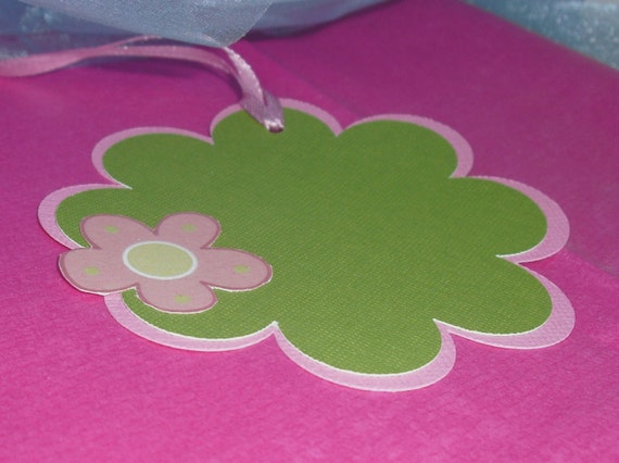 Pretty in Pink Gift Tag Set of 3