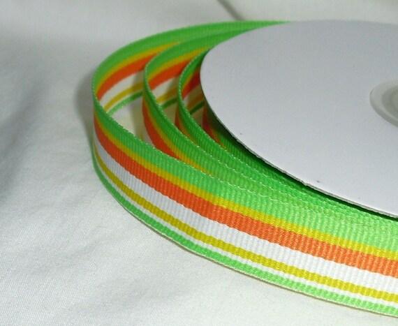 "Striped Ribbon...5/8"" X 25 yards"