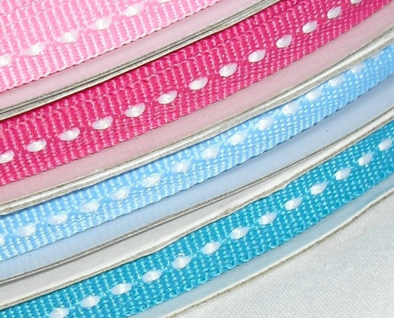 """4 Spools of Ribbon Special...1/4"""" X 25 yards each (no coupon code please)"""
