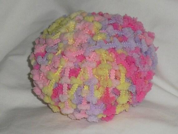 Destash Ball of Yarn / Multi Colored