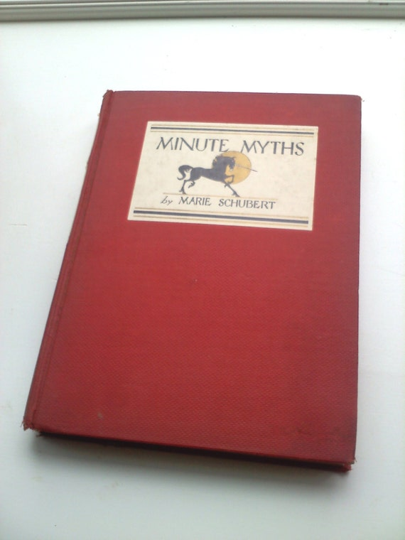 Minute Myths & Legends Beautiful Illustrated Mythology Book by Marie Schubert