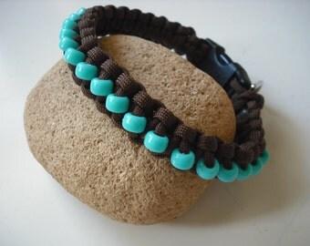 Classy Dog Collar , Beaded Dog Jewelry