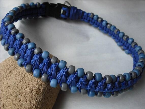 Boy Dog Collar, Handmade, XL, XXL