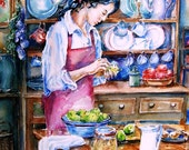 Pickling Pears- fine art Giclee  Print -Various sizes available- from