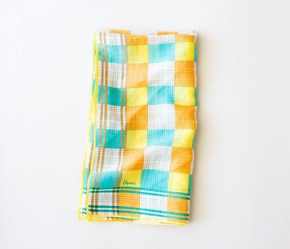 Vintage Scarf -Miss Modular- Vera Neumann Colorful Squares