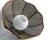 Brown Woven Pendant Lamp