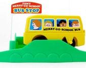 Tomy Merry Go School Bus Set