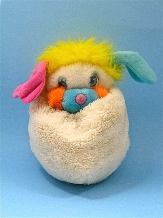 1980s White Popple With Tags