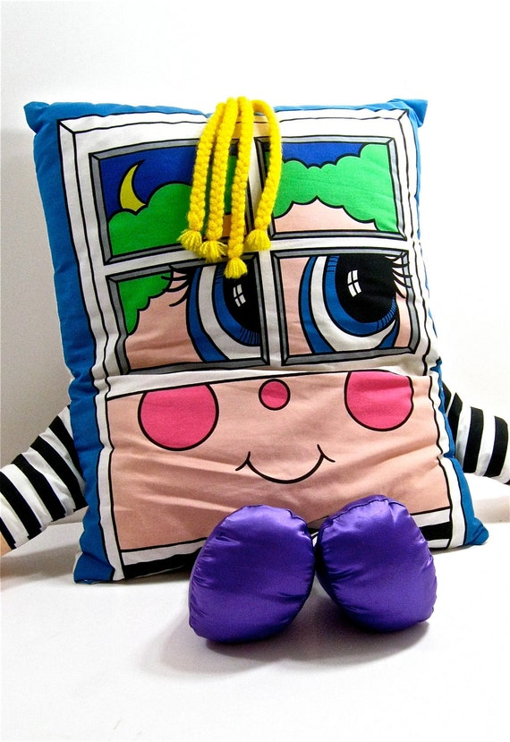 Vintage Pillow People 1980s