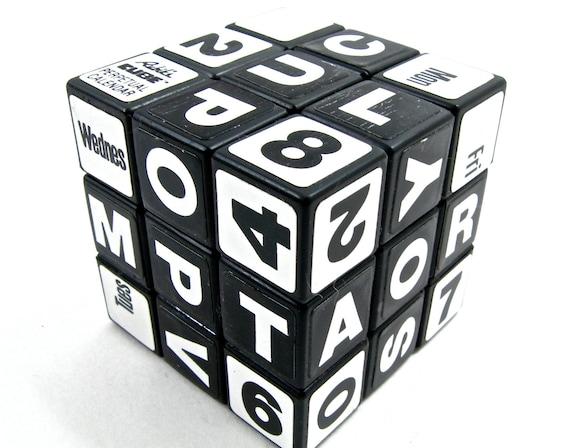 Perpetual Calendar Cube : Rubik s cube perpetual calendar