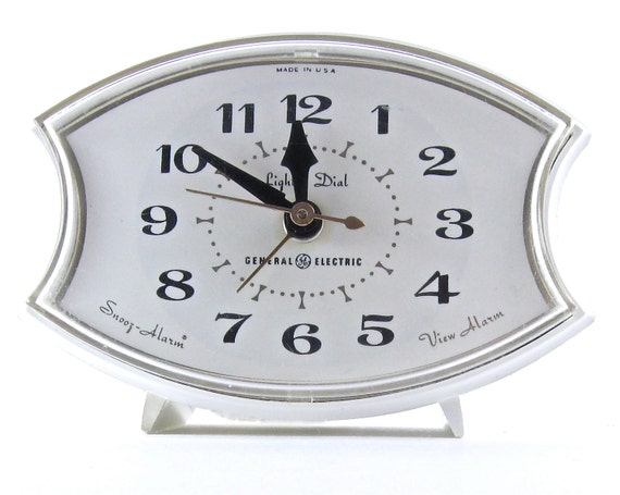 Cute White Clock for Your Nightstand-reserved