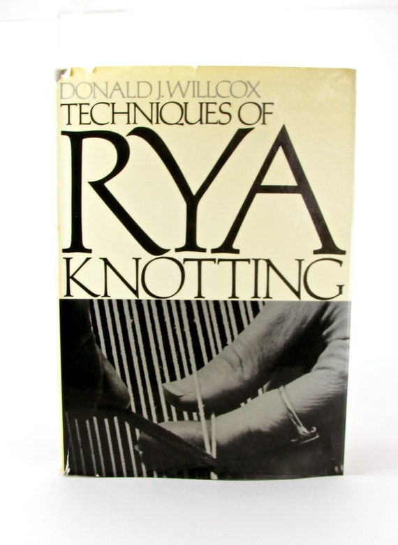 Rya Knotting How-To Book