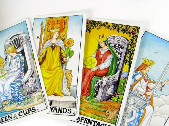 Tarot Cards Vintage Universal Waite Deck