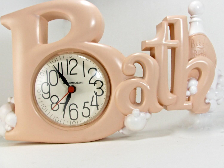 Bath Clock