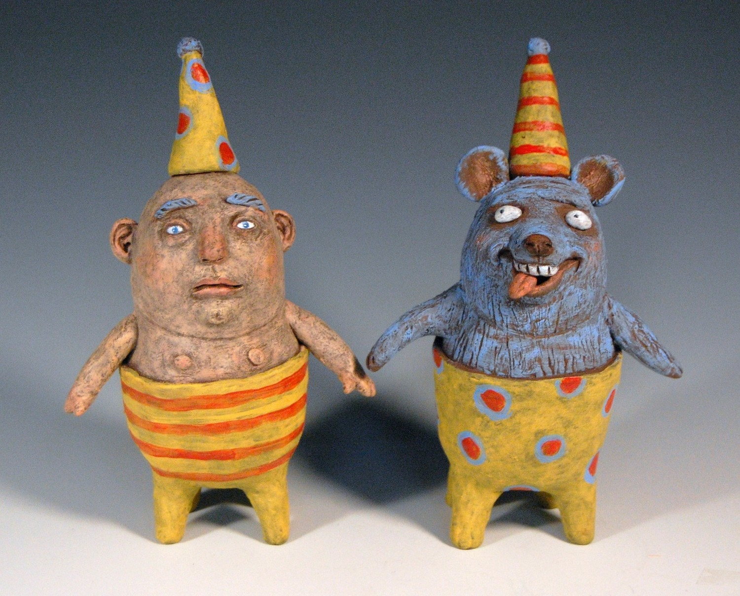 Boris And Lenny Decorative Salt And Pepper Shakers