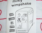 Milky Wimpshake Bus Route To Your Heart fanzine and CD