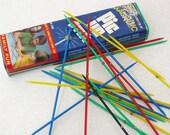 Old Pick Up Sticks  Vintage Game  Pick Up Stixs  Vintage Children Game Multi Color Game Sticks