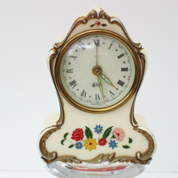 Vintage Alarm Clock Vintage Clocks German Alarm Clock With