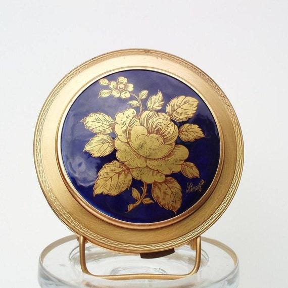Vintage Limoges Vintage Powder Compacts Cosmetic Compact