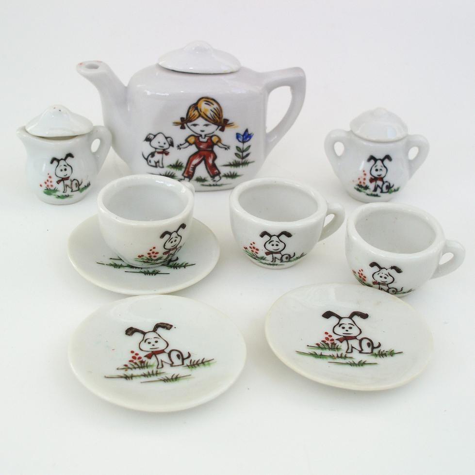 toy tea set childs tea set made in japan tea set. Black Bedroom Furniture Sets. Home Design Ideas