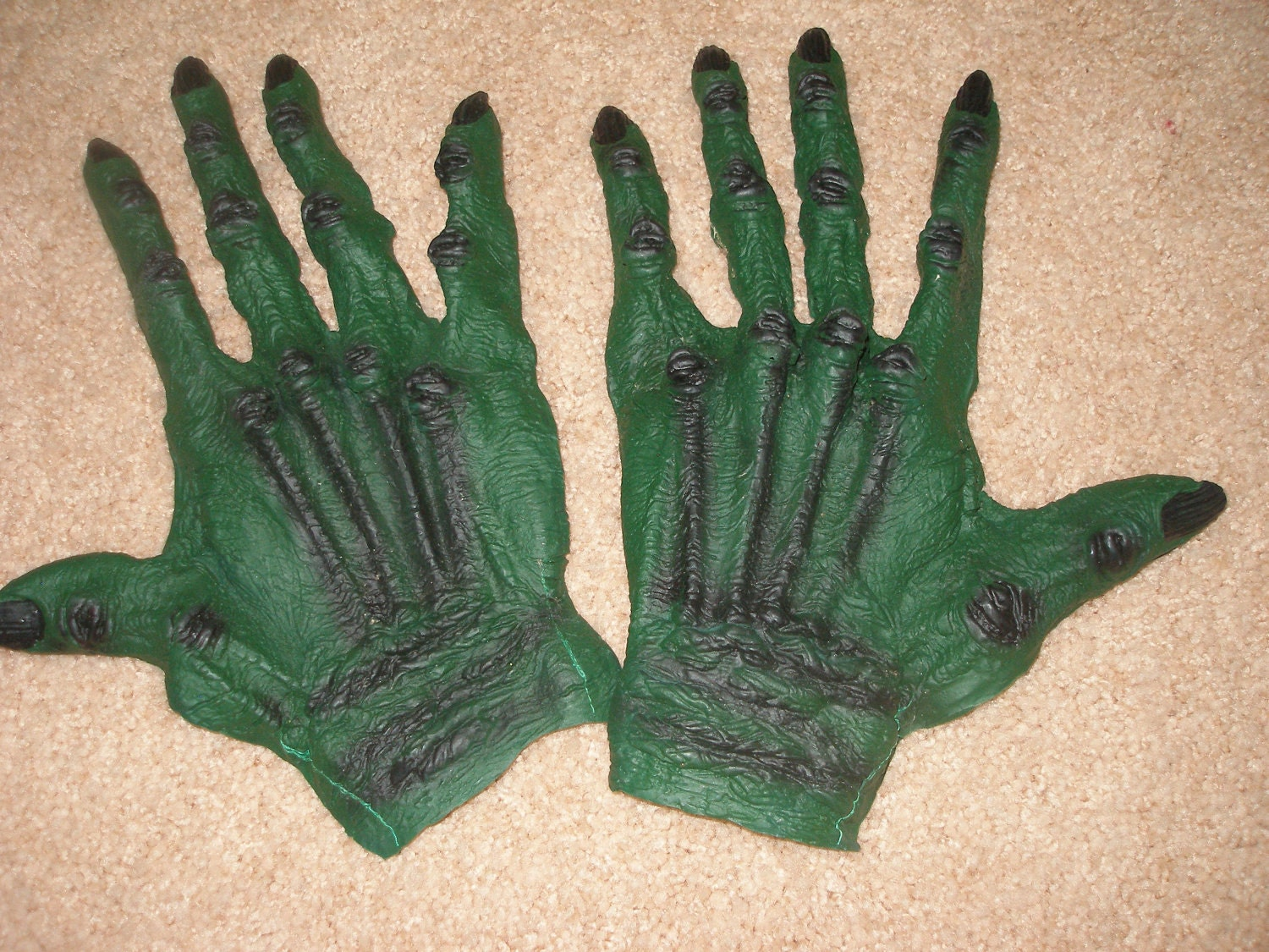Halloween Monster Hands Costume Creature from the Black Lagoon