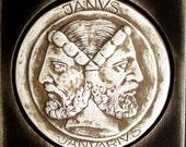 Katemi Plaque -Mythology-Janus