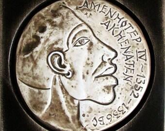 Katemi Plaque - Famous People Series - Amenhotep IV