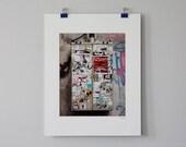BOGO SALE: Soho Sticker Electric Box - 8x10 matted professional print