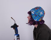 Robot Congregation Cap Because We Make Every Effort To Entertain Your With Our Geekery and Descriptions
